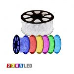 1 METER WATERPROOF LED STRIP IP65 220V SINGLE COLOR - COLORADO