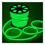1 METER WATERPROOF LED STRIP IP65 220V SINGLE COLOR GREEN - NEOL