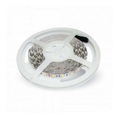 10W LED STRIP RGB 60 SMD IP20 V-TAC 5 METER 12V VT-5050