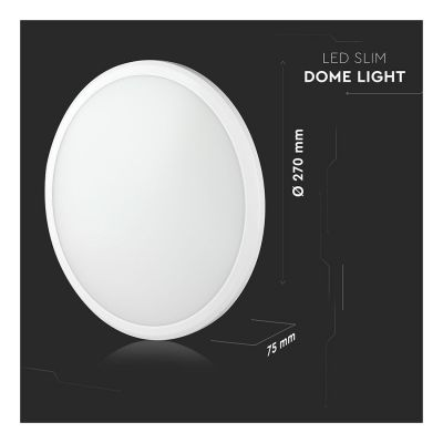 12W SENSOR LED DOME LIGHT SLIM WITH SAMSUNG CHIP VT-12SS