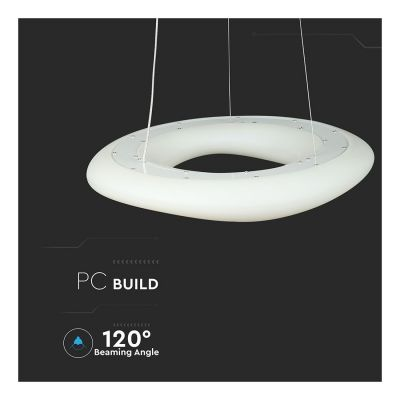 38W DIMMABLE LED DESIGNER CEILING LIGHT WITH REMOTE CONTROL CCT