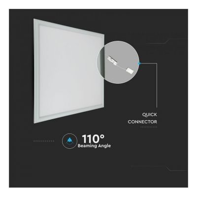 45W LED PANEL 60x60 WITH SAMSUNG CHIP 6400K 5YRS WARRANTY VT-645
