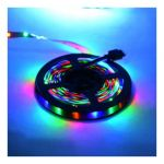 5 METER RGB WATERPROOF LED STRIP 24W 2A 1440LM 12V - REN