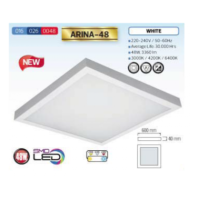 ARINA-48 4200K LED DOWNLIGHT