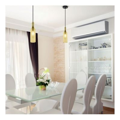 BOTTLE PENDANT LIGHT - ROSE VT-7558