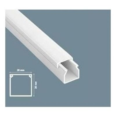 CABLE CHANNEL 16X16 PLASTIC TRUNKING INSTALLATION SYSTEM 2 METER