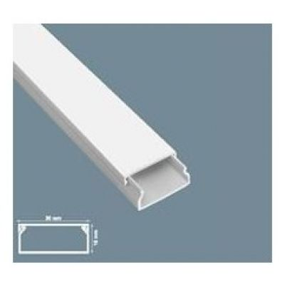 CABLE CHANNEL 30X16 PLASTIC TRUNKING 2M INSTALLATION SY