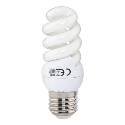 9W FULL SPIRAL E27 SAVING ENERGY LAMP WHITE 6400K 9W FULL-9