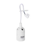 LAMP HOLDER SOCCET E27 AVEC CABLE WHITE