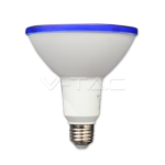 WATERPROOF LED BULB 15W IP65 BLUE E27 VT-1125