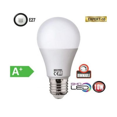 LED BULB 10W DIMMABLE 6400K EXPERT-10