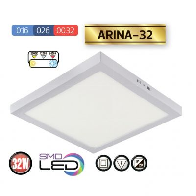 LED DOWNLIGHT 3000k 32W ARINA-32