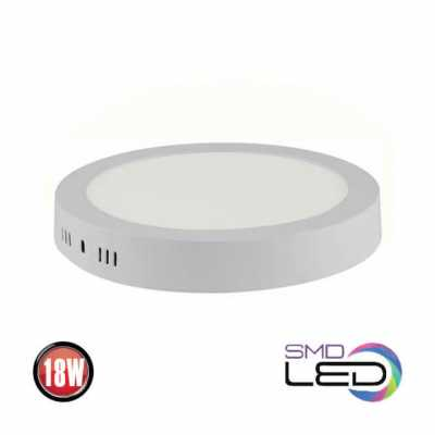 LED DOWNLIGHT RUNDA 18W VIT 6000K CAROLINE-18