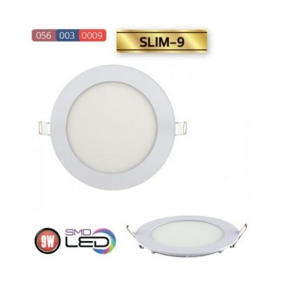 LED PANEL 9W COOL WHITE 4200K 15CM SLIM-9