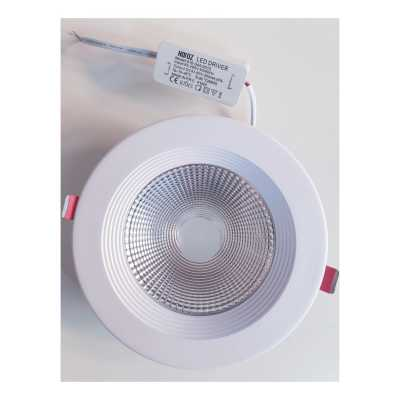 LED-SPOTLIGHT 15W COB DOWNLIGHT WHITE 6400K 85-265V VANESSA-15