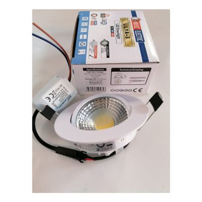 LED-SPOTLIGHT 3W WHITE 4200K COLD WHITE LILYA-3