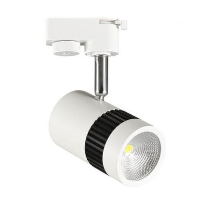 LED TRACK LIGHT 1-FASE 13W 73° White MILANO-13
