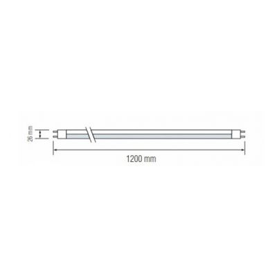 LED TUBE 120CM T8 18W 6400K G13 Tube 860 LED TUBE-120