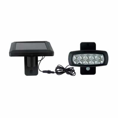 SOLCELL LED LAMPA 2W Vattentät IP44 - WIZARD