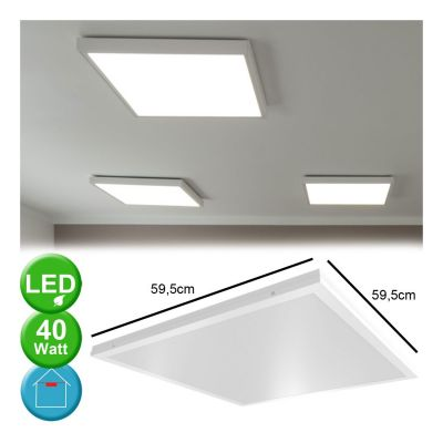 40W LED TAK PANEL 60x60 DAGSLJUS 6500K 4000LM VT-6142