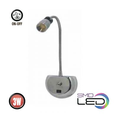 LED BILD & SPEGEL LAMP 3W 4000K FLORYA-3
