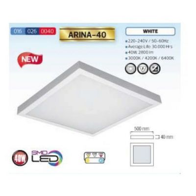 LED DOWNLIGHT 40W KALLVIT 4200K ARINA-40