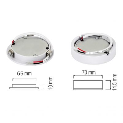 LED-SPOTLIGHT 3W Recessed Downlight 4200K - Luna