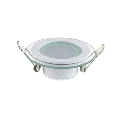 LED-SPOTLIGHT 6W DOWNLIGHT DAGSLJUS 6400K 165-260V CLARA-6