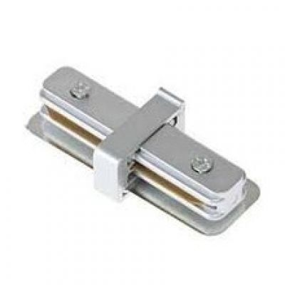 TRACK CONNECTOR SILVER